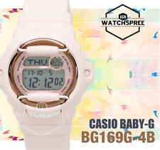 Casio Baby-G BG-169 Pink Color Series Watch BG169G-4B AU FAST & FREE