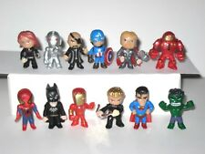 Mavel Avengers Super Heroes Mini Action Figures Lot Of 12