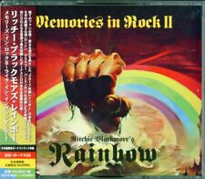 RITCHIE BLACKMORE'S RAINBOW-MEMORIES IN ROCK II -...-JAPAN 3 CD BONUS TRACK I98