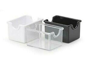 Commercial Plastic Sugar Packet Holder Caddy Restaurants Diners - Choose Color