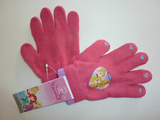 Disney Really Cute PRINCESS Pink Gloves One Size NWT
