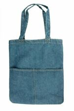 Denim Tote Bag, Satchel, Denim Shoulder Bag, Denim Bags for Women, Blue Denim