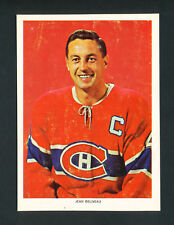 1963-65 CHEX CEREAL HOCKEY PHOTO JEAN BELIVEAU MONTREAL CANADIENS RARE series 1
