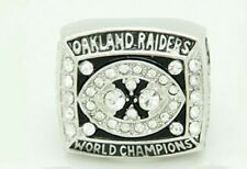 1980 OAKLAND RAIDERS CHAMPIONSHIP REPLICA RING JIM PLUNKETT