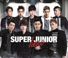 SUPER JUNIOR - HERO (JAPAN 1ST ALBUM) 2CD+1DVD+Free Gift+Tracking no.