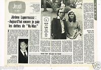 Coupure de presse Clipping 1977 (2 pages) Jerome Laperrousaz