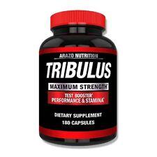 Arazo Nutrition Tribulus Test Booster Performance Stamina Dietary Supplement