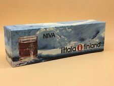 4x Vintage iittala Niva Liqueur / Schnapps / Shot Glasses In Original Box, 1970s