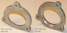 """Turbine Outlet Flange Angle type 304 SS VOLVO 850 S70 TD04HL K24 for 3"""" tubing"""