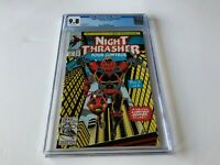 NIGHT THRASHER FOUR CONTROL 1 CGC 9.8 WHITE PAGES NICIEZA BAGLEY MARVEL COMICS
