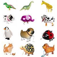 Kids Foil Pet Animals Walking Balloon Helium Fun Toy Party Birthday DecorsJO