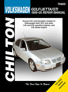 Volkswagen Golf , Jetta & GTI (1995-2005) - Chilton Repair Manual