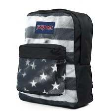 JANSPORT Superbreak Backpack - Black Tonal USA School bag T5010LC - UK Stockist