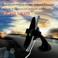 Qi Wireless Fast Car Charger Stand Mount Holder For Samsung S8 Note 8 iPhone 8/X