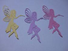 Fairy Embellishments Die Cuts x 6