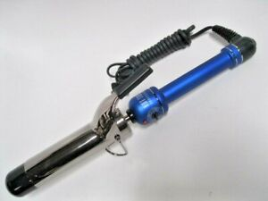 Hot Tools Ceramic Tourmaline Curling Iron  Barrel 1.5 Inch HT-1102 BLUE