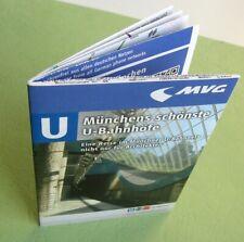 Metro Munchen mini plan U- bahn 2014 Germany - for collectors
