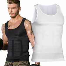 Men's Slimming Shaper Posture Corrector Compression T-shirts Tummy Control