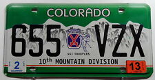 "TARGA USA da Colorado"" 10th Mountain Division ""STEMMA/Sciatori. 8834"
