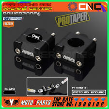 Pro Taper HandleBar Fat Bar Risers Mount Clamp Adapter 7/8 - 1 1/8 Universal Sol