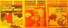 Lot de 2 CHARLIE HEBDO datés des 15 et 22 janvier 1973   - n°s 113-114 -