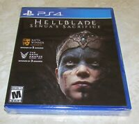 Hellblade: Senua's Sacrifice for Playstation 4 Brand New! Fast Shipping!
