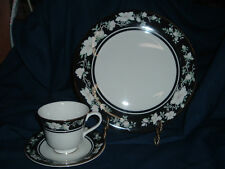 Royal Doulton, INTRIGUE,  Dinner Plate and Cup & Saucer
