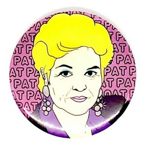 LARGE PAT BUTCHER EASTENDERS 58MM BUTTON PIN BADGE