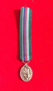 """Volunteer Reserve Service Miniature Medal VRSM With 6"""" Ribbon"""