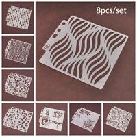 stempel diy - handwerk scrapbooking textur schichtung schablonen bild - vorlage