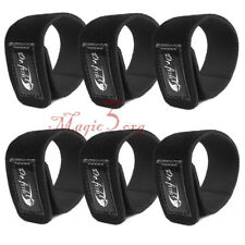6pcs Fishing Rod Ties Stretchy Cable Strap Belt Holder Storage Handy Accessories