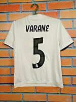 Varane Real Madrid Jersey 2018 2019 Home Kids Boys 11-12 y Shirt Adidas CG0554