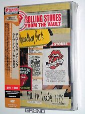 DVD+2CD: Rolling Stones From The Vault - Live In Leeds, JAPAN, NEU (B4/33/18)