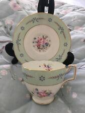 Coalport China Cup Saucer 'Spring Song' Batwing Tea Set