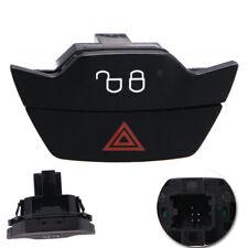 1x Warning Light Button Lock Unlock Switch For Ford FOCUS mk3  1519127 Black