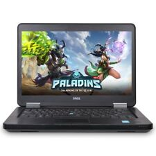 "Dell 14"" Gaming Laptop 8GB Intel Core i7 NVIDIA GeForce GT 720 2GB Windows 7 Pro"