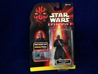 Hasbro 1998 episode 1 Darth Maul Jedi Duel with Double-Bladed Lightsaber #84088