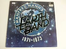Manfred Mann's Earth Band 1971-1973 (6438 085) German LP, fontana special