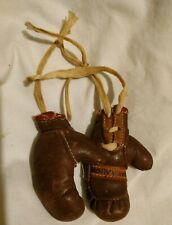 VINTAGE 1940'S MINIATURE BOXING GLOVES HOLLYWOOD CALIF EXTREMELY RARE!!!