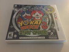 Yo-Kai Watch 2: Bony Spirits (Nintendo 3DS, 2016) NEW