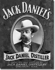Jack Daniel's Retro Portrait USA Metall Bar Deko Schild