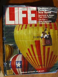 """LIFE MAGAZINE October 1978- """"Godfather"""" Puzo's New Book"""