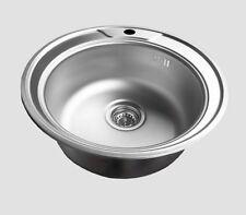 Spülbecken küche rund  Für Bad & Küche Spülen aus Edelstahl ohne Abtropffläche   eBay