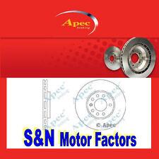 Brake Discs Front - fits Saab 900 96>98, 9-3 98>03, 9-5 97>09 - Apec DSK940
