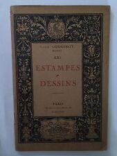 ESTAMPES DESSINS CATALOGUE N° XX1 21 1927 LOUIS GODEFROY ILLUSTRE