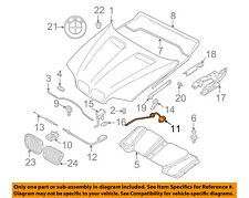 BMW OEM 00-06 X5-Hood Release Cable 51238402615