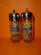 2x RFT Röhren / Tubes EF80 NOS / NIB