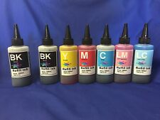 700ml BULK refill Ink set for Epson R280 380 RX580 595 for cis/refillable #77,78
