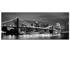 "Wall Art New York Brooklyn Bridge Canvas Prints Picture Painting Decor 20"" x 60"""