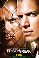 PRISON BREAK 27x40 UltraRARE Original TV SERIES PROMO Movie Poster OneSheet Size